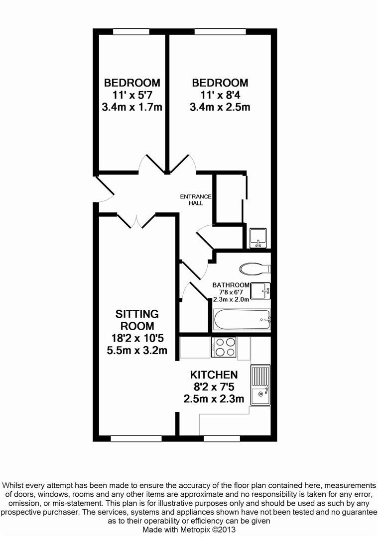 Floorplan for Manor Fields, Horsham